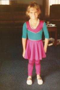 Vicki, Christmas 1983