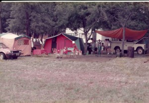 Mulungushi Dam camp-site.
